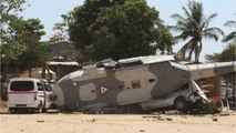 Helicopter Crashes In Mexico After Surveying Damage From Quake