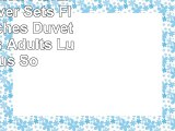 VClife Cotton Floral Duvet Cover Sets Flower Branches Duvet Cover Sets Adults Luxurious