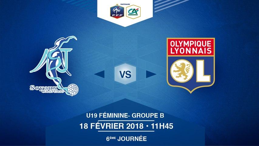 U19 National Féminine - ASJ Soyaux / Olympique Lyonnais - Dimanche 18/02/2018 à 11h45 (4)