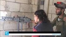 حصري-كاميرا فرانس24 ترافق قوات سوريا الديمقراطية في قلب معارك الرقة