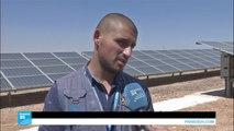 الطاقة الشمسية في مخيم للاجئين بالأردن لتوفير الطاقة وفرص عمل