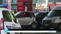 إضراب سائقي شاحنات المحروقات يشل مئات محطات الوقود في فرنسا
