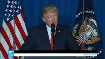 اسمع كلمة ترامب بعد توجيه ضربة عسكرية على قاعدة عسكرية سورية