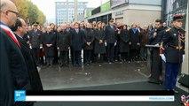 إحياء الذكرى السنوية الأولى لاعتداءات باريس الإرهابية