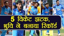India vs South Africa 1st T20I: Bhuvneshwar Kumar claims 5 wickets to help India defeat South Africa