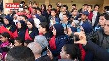 330 طالب وطالبة بالاسكندرية يزورون مشروع بشائر الخير بغيط العنب