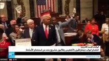 نواب ديمقراطيون يعتصمون في الكونغرس الأمريكي للمطالبة بتنظيم حيازة الأسلحة النارية