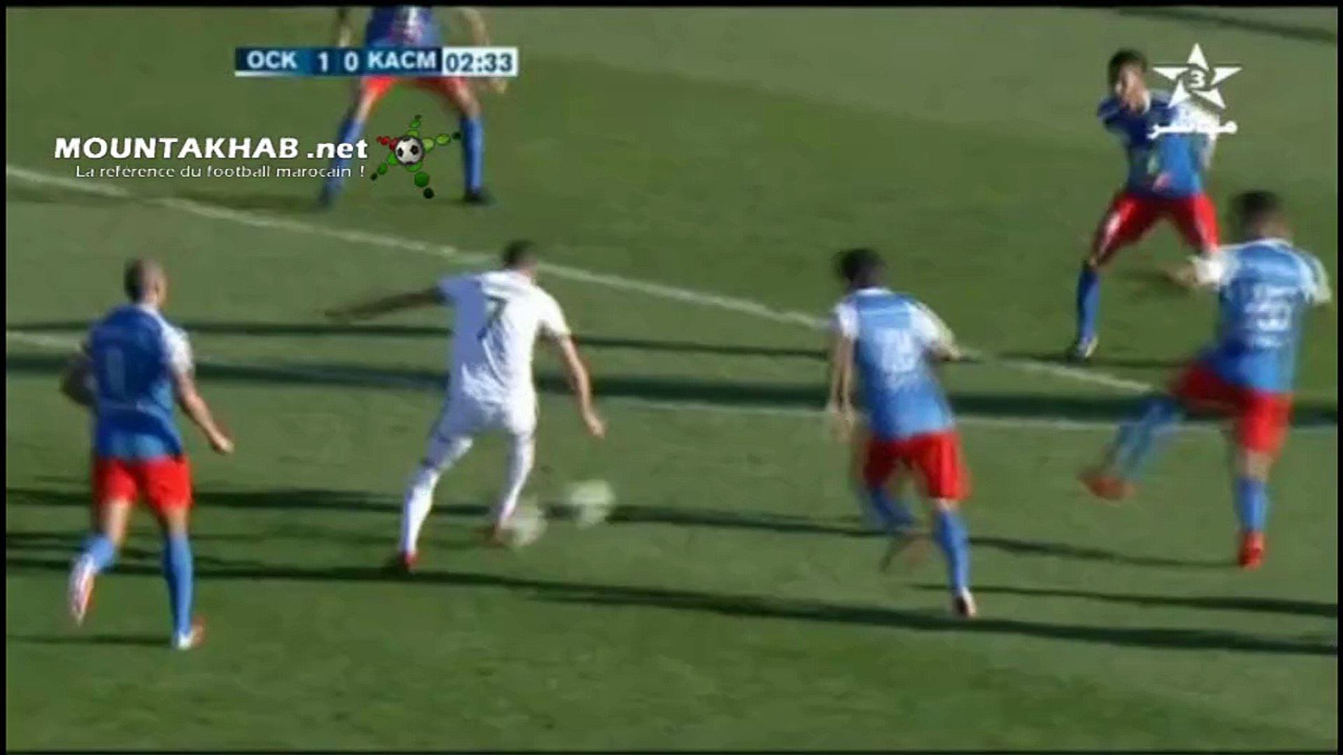 OCK VS KACM 3-0 أولمبيك خريبكة ضد الكوكب المراكشي - Vidéo Dailymotion