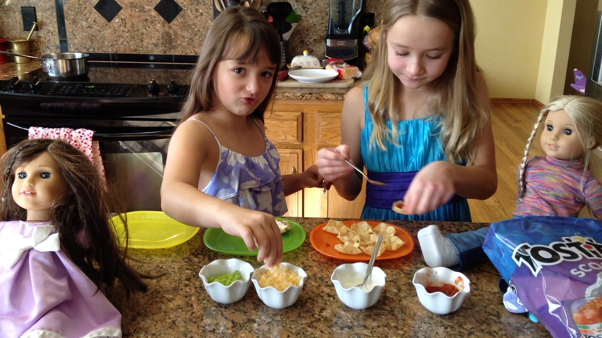 COOKING FOR AMERICAN GIRL DOLLS