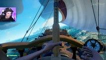 PIRATEN RAIDEN OP OCEAAN?!   Sea Of Thieves #4 ft. Gamemeneer & Djuncan