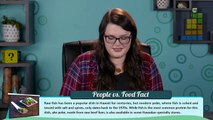 EATING RAW MEAT (Lamb, Cow, HUMAN?!) (College Kids vs Food)
