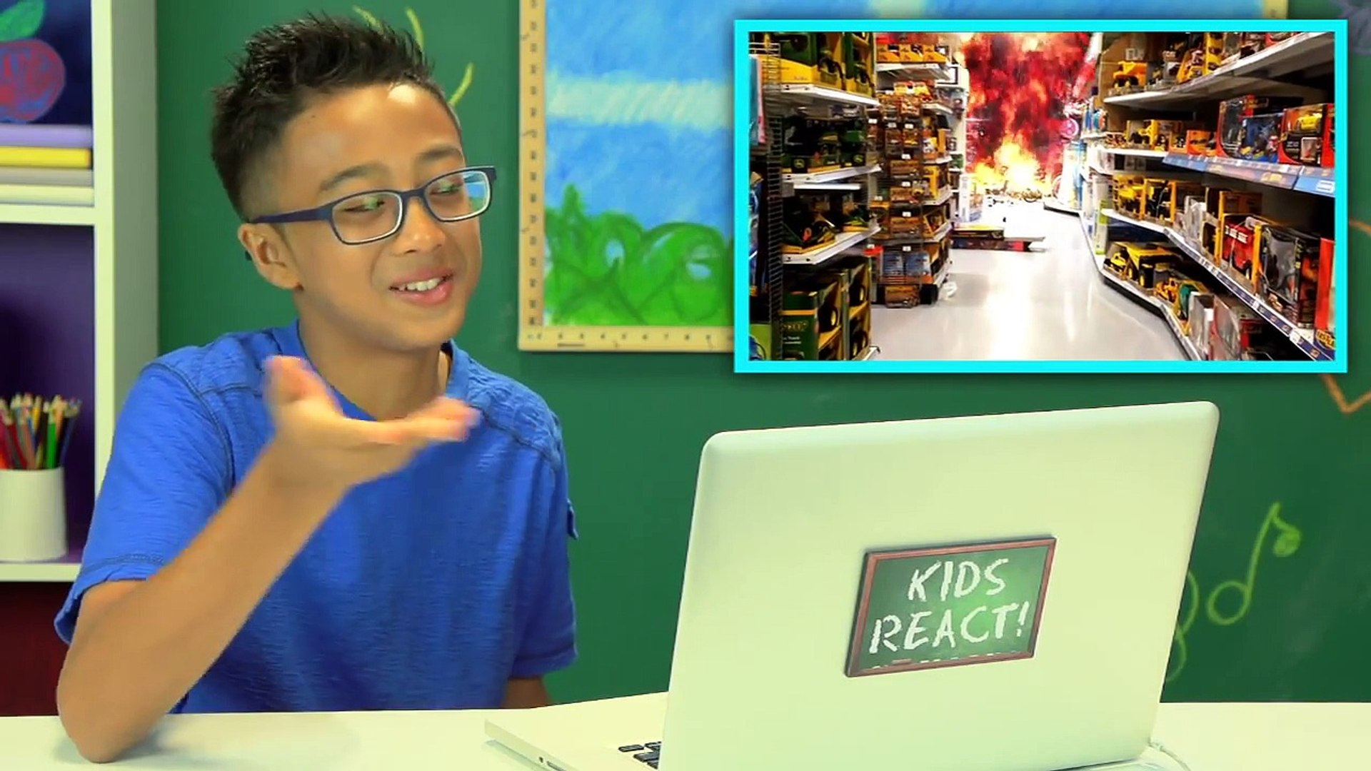 Kids React to Action Movie Kid (Bonus #112)
