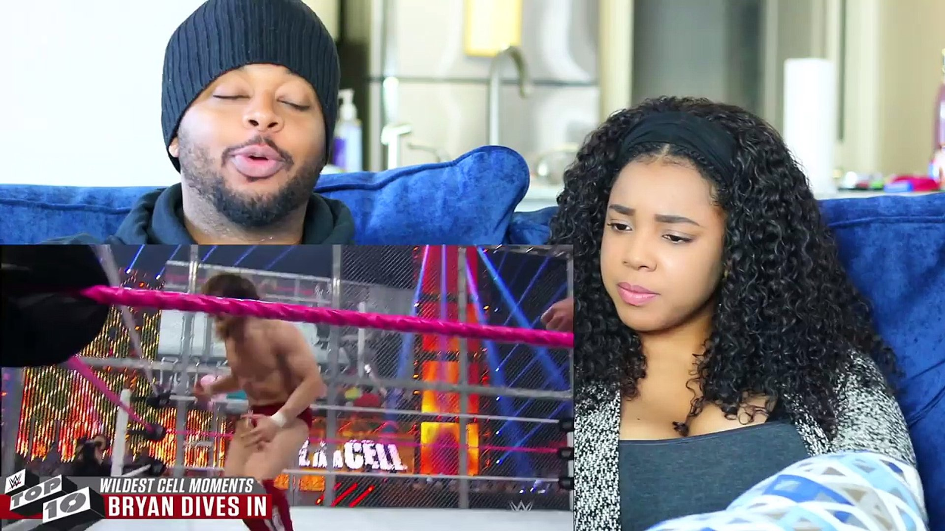 WWE WILDEST MOMENTS INSIDE HELL IN A CELL - TOP 10 | Reaction