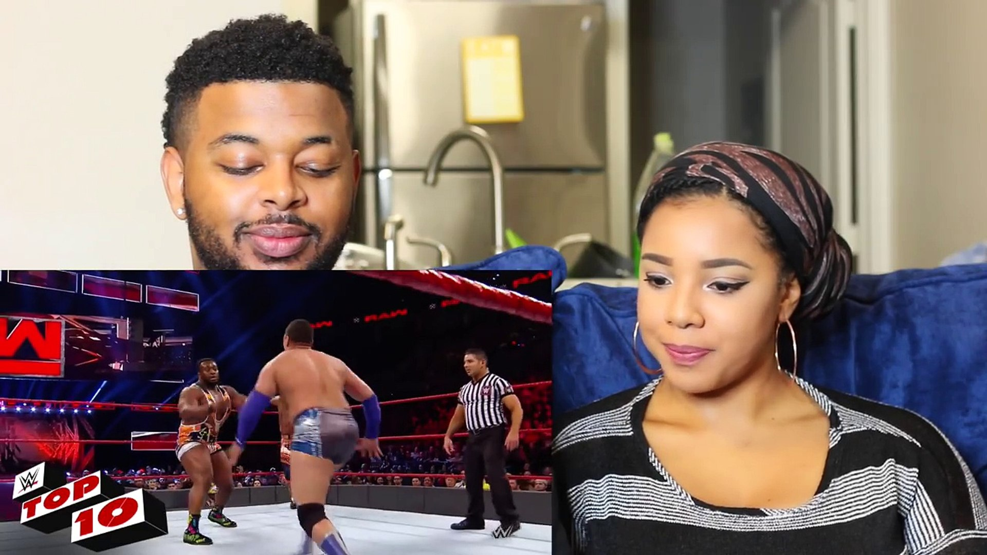 WWE TOP 10 RAW MOMENTS: FEB. 6, 2017 | Reaction