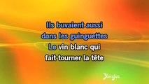 Karaoké La romance de Paris - Charles Trenet *