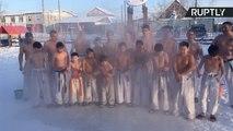 Siberian Karate Kids Show Leonardo DiCaprio Temperature is Just a Number