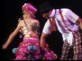 Madonna – Medley: Dress you up, Material girl, Like a virgin, Dress you up, Material girl, Like a virgin   Live from Italy, Ciao Italia