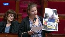 Déchets nucléaires : Mathilde Panot (LFI) brandit une photo de Nicolas Hulot quand il s'opposait au projet Cigéo de Bure