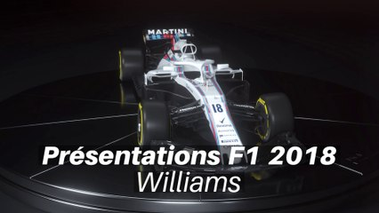Présentations F1 2018 - Williams