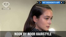 New York Fashion Week Fall/Winter 18 19 - Noon by Noor Hairstyle | FashionTV | FTV
