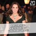 Bafta 2018: Kate Middleton portait une robe verte!