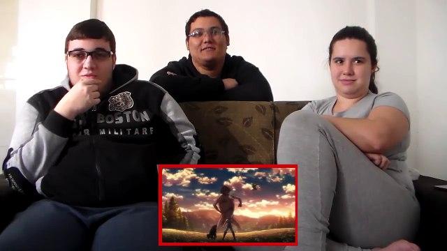 Attack on Titan Season 2 Episode 12 REACTION