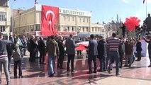 Suriyelilerden Zeytin Dalı Harekatı'na Destek