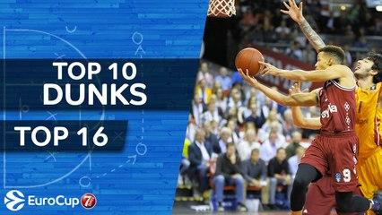 7DAYS EuroCup, Top 10 Dunks of the Top 16