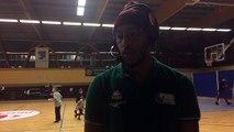 La réaction d'après match de Joris BADO après la victoire au Cannet (76-88)