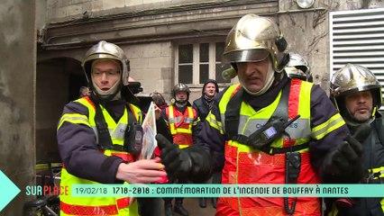 Sur Place : Commémoration de l'incendie place du Bouffay