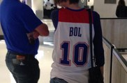 Manute Bol, Drazen Petrovic, Latrell Sprewell Jerseys Spotted At NBA All-Star Weekend 2018