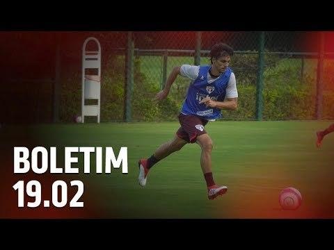 BOLETIM DE TREINO: 19.02 | SPFCTV