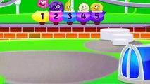 Lernen Sie Farben mit Züge Farben für Kinder Lernen Video für Kinder