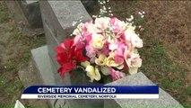 Vandals Topple Over Headstones at Virginia Cemetery