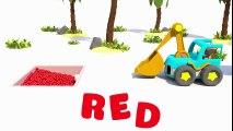 Tren Troy çocuklara yönelik Autos für Kinder und Bagger Farben mit Kugeln für Kinder