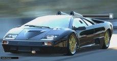 Gran Turismo 6 Lamborghini Diablo GT2 Vista Exterior en el Circuito Mount Panorama Bathurst