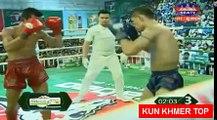 Kim Veasna vs Senkhom(thai), Khmer Boxing Seatv 17 Feb 2018, Kun Khmer vs Muay Thai