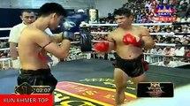Meas Chanmean vs Kolabdam(thai), Khmer Boxing Seatv 18 Feb 2018, Kun Khmer vs Muay Thai