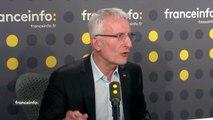 """Fin du statut des cheminots : """"Je ne suis pas là pour faire de la politique. Je pense qu'on ne peut pas accepter que certains aient envie de stigmatiser les cheminots dans la période"""", réagit Guillaume Pepy, patron de la SNCF"""