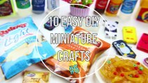 How to Make Easy DIY Miniatures - 10 Easy DIY Miniature Doll Crafts