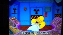 Simpsons flinstones style