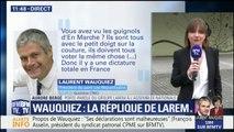 """Aurore Bergé (LREM) : """"La brutalité de Laurent Wauquiez est connue de tous ceux qui font de la politique au sein de LR"""""""