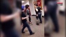 Etats-Unis : une lycéenne pète les plombs et frappe violemment une prof (vidéo)