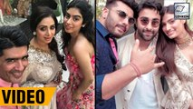 Sridevi, Khushi Kapoor, Arjun Kapoor At Mohit Marwah's Grand Wedding In UAE