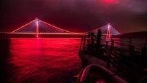 ABD Donanması Yavuz Sultan Selim Köprüsü'nün Fotoğrafını Paylaştı