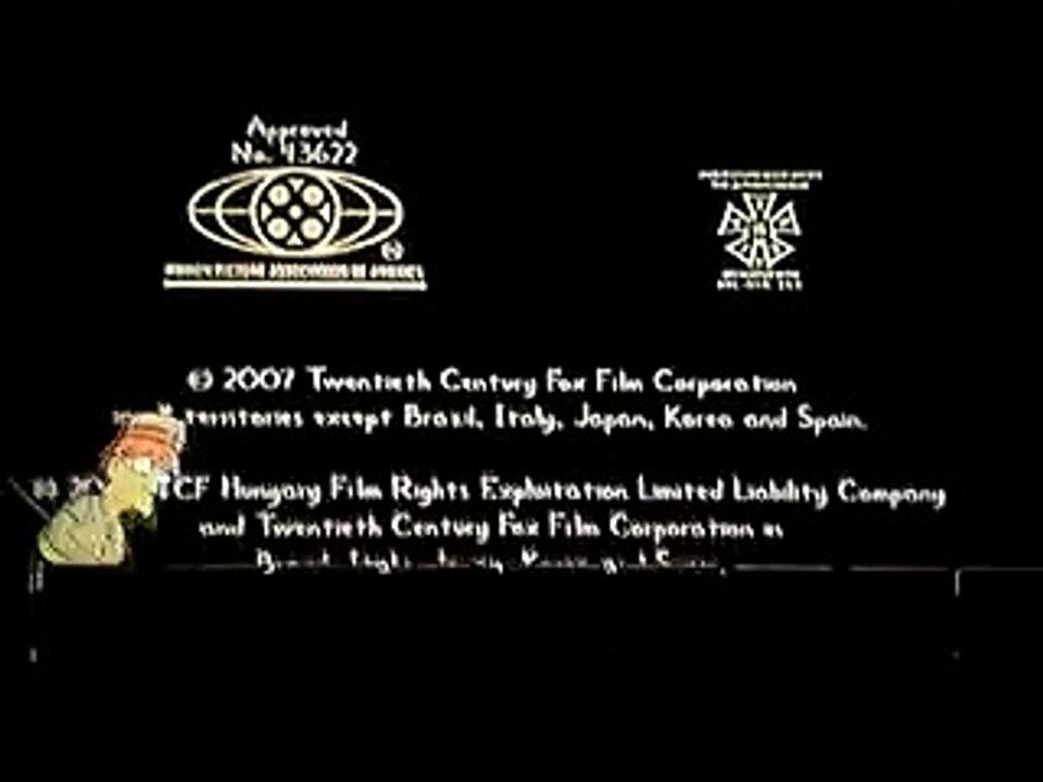 Closing To The Simpsons Movie 2007 Dvd Video Dailymotion