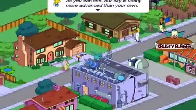 The Simpsons Movie Game - Simpsons Game Episode HD | Simpson Tapped Out