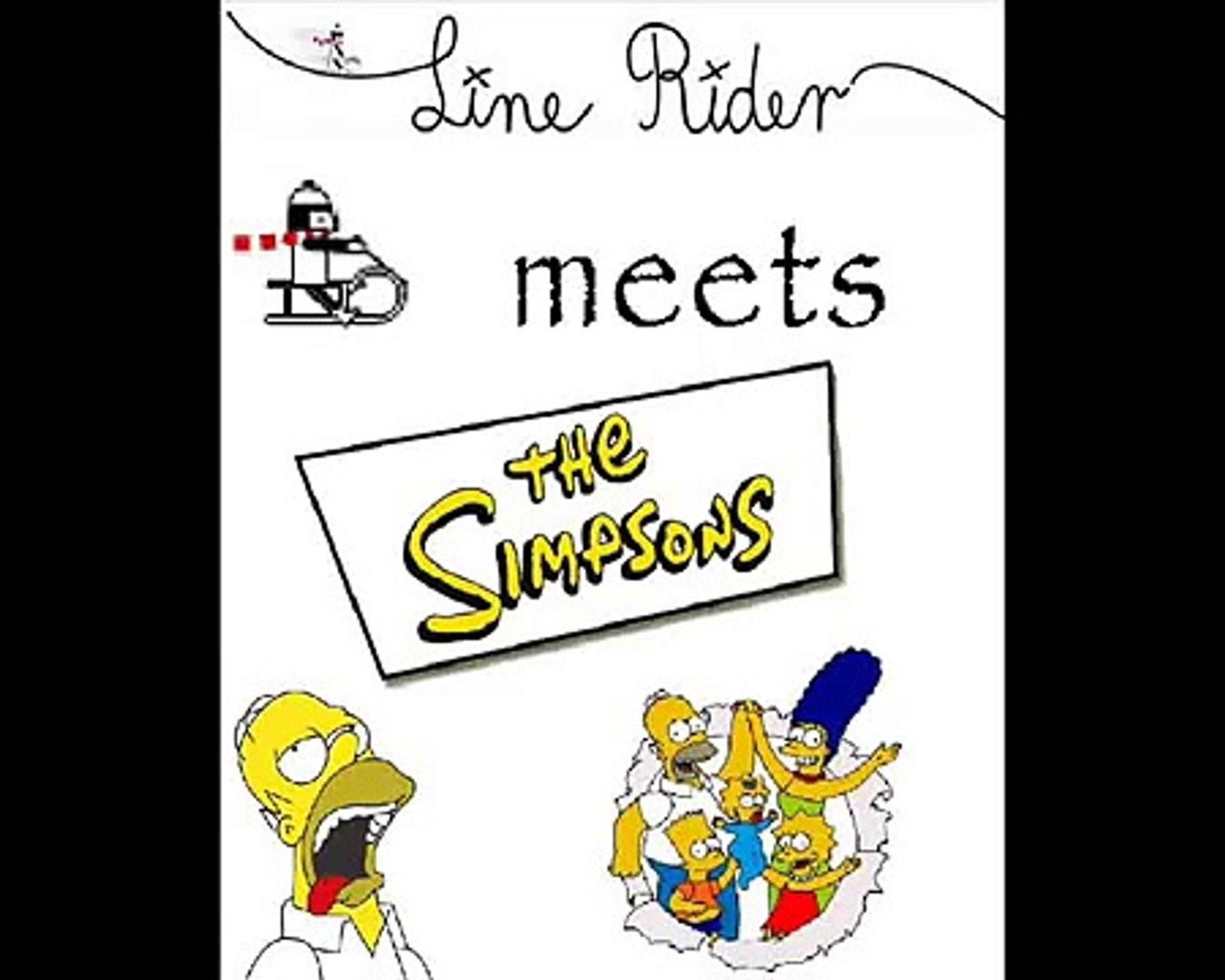 Line Rider The Simpsons Video Dailymotion