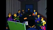 The Simpsons - Mr. Burns campaign team
