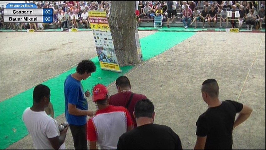 6ème International de la Ville d'Espalion : 64ème de finale Gasparini vs Bauer